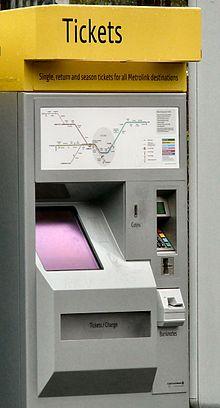 دستگاه خرید بلیط قطار Scheidt&Bachmann