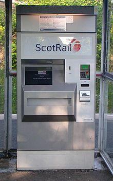 دستگاه خرید بلیط شرکت Scheidt&Bachmann در سال 2004