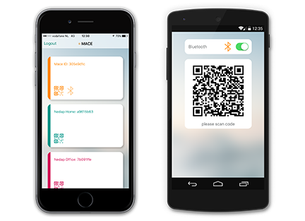 mace-app:نرم افزاری برای کنترل دسترسی توسط موبایل